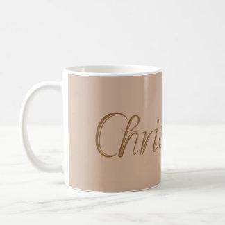 Christopher Classic White Coffee Mug