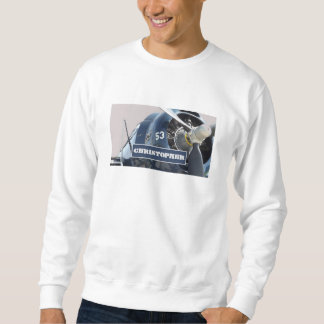 Christopher-Northrup Plane Personalized Sweatshirt