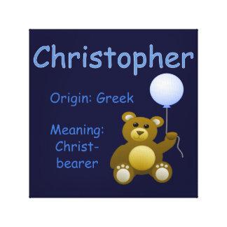 Christopher / Nursery Decor