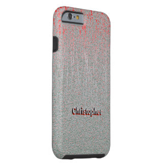 Christopher Scratch Style iPhone case