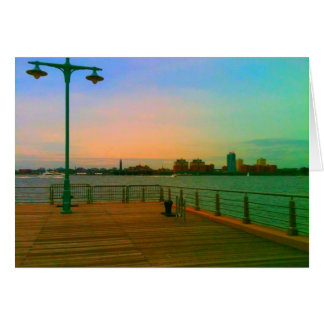 Christopher Street Pier Greeting Card