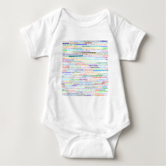 Christopher Text Design II Baby Bodysuit