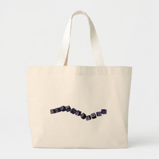 Christopher Toy blocks in blue Tote Bag