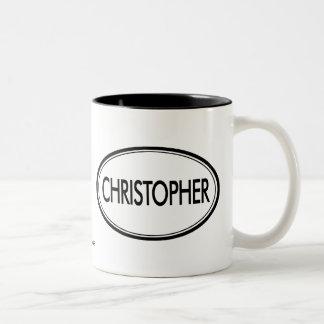 Christopher Two-Tone Coffee Mug