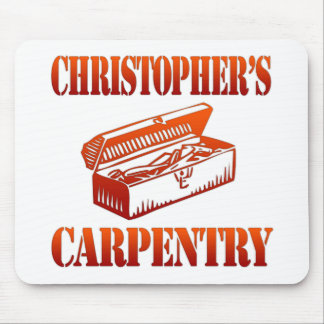Christopher's Carpentry Mouse Pad