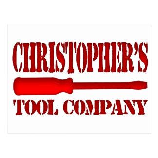 Christopher's Tool Company Postcard