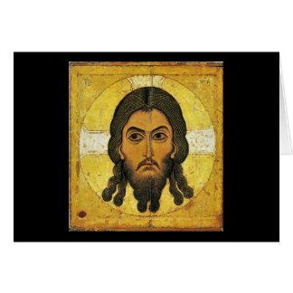 Christos Acheiropoietos Card