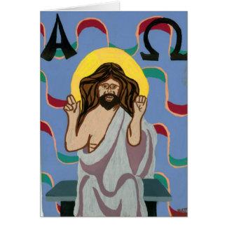 Christos Pantocrator Card
