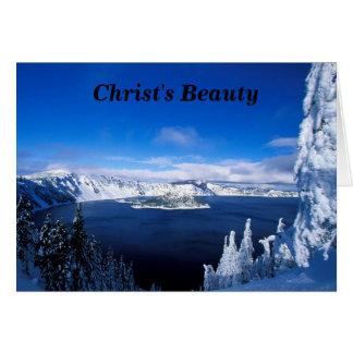 Christ's Beauty Card