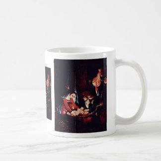 Christ'S Birth, Birth Of Jesus. Painting By Lorenz Mug