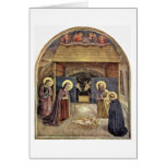 Christ'S Birth By Fra Angelico Greeting Card