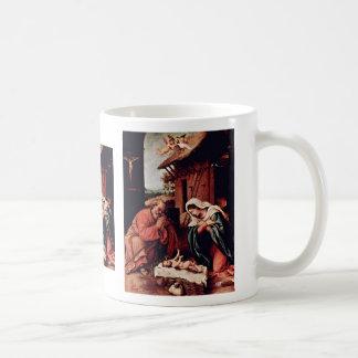 Christ'S Birth By Lotto Lorenzo (Best Quality) Mug