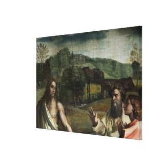 Christ's Charge to St. Peter Gallery Wrapped Canvas