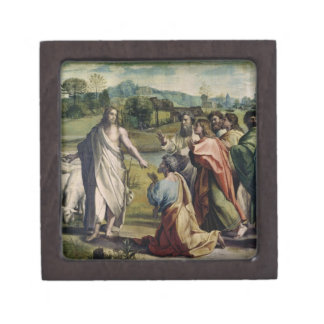 Christ's Charge to St. Peter (cartoon for the Sist Keepsake Box