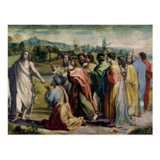 Christ's Charge to St. Peter (cartoon for the Sist Postcard