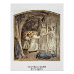 Christ'S Descent Into Hell By Fra Angelico Print