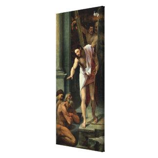 Christ's Descent into Limbo, c. 1532 Canvas Print