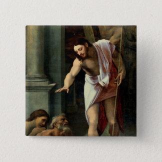 Christ's Descent into Limbo, c. 1532 Pinback Button