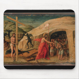 Christ's Descent into Limbo Mouse Pad