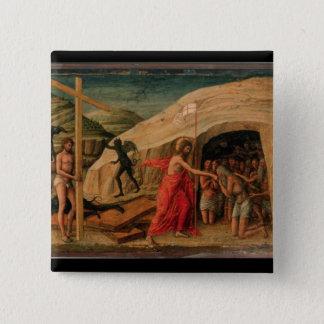 Christ's Descent into Limbo Pinback Button