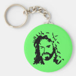 Christs Face Keychain