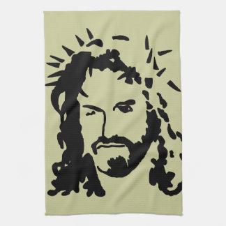 Christs Face Kitchen Towel