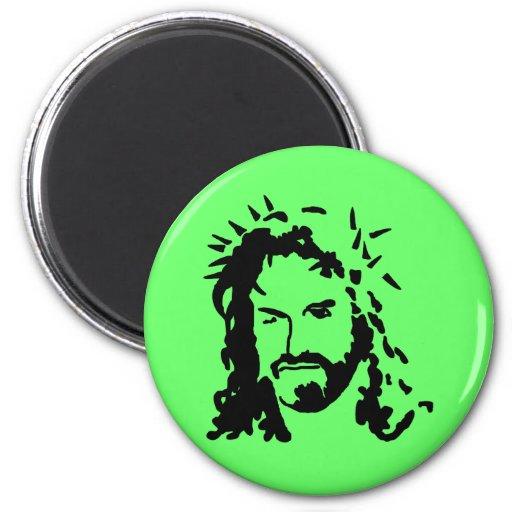 Christs Face Refrigerator Magnet