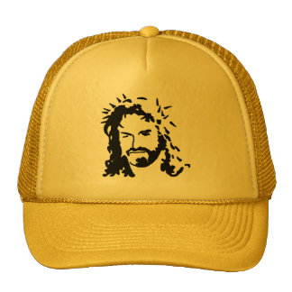 Christs Face Trucker Hat