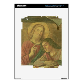 Christ's Head, from the Last Supper, 1480 (fresco) iPad 3 Skin