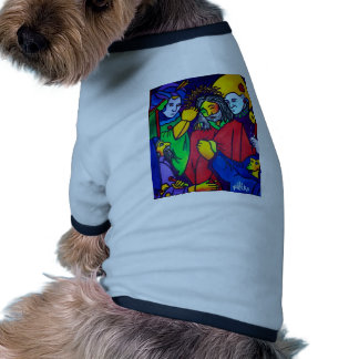 Christ's Passion by Piliero Pet Tee Shirt