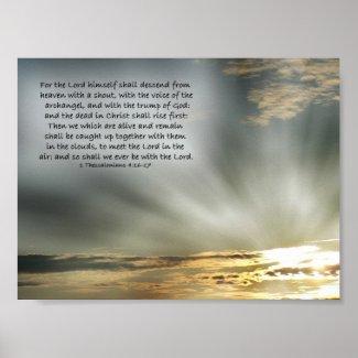 Christ's Return print