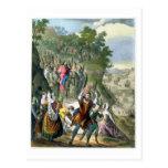 Christ's Triumphal Entry into Jerusalem, from a bi Postcard