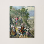 Christ's Triumphal Entry into Jerusalem, from a bi Puzzle