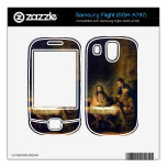 Christus in Emmaus by Rembrandt Skins For Samsung Flight