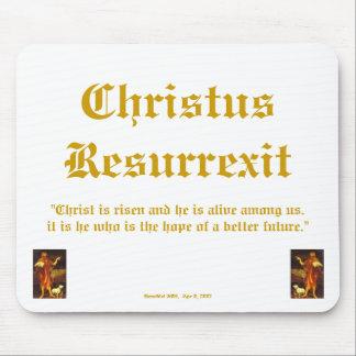 Christus Resurrexit - Hope Mouse Pad