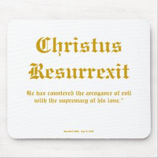 Christus Resurrexit Mouse Pad