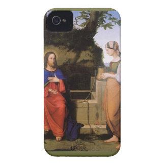 Christus und die Samariterin iPhone 4 Case