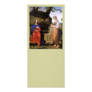 Christus und die Samariterin Customized Rack Card
