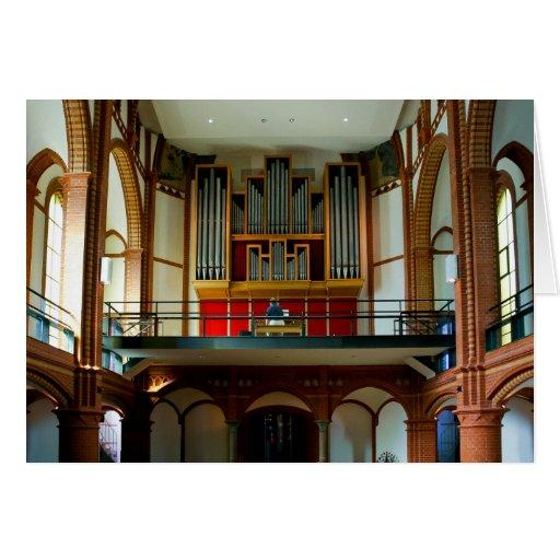 Christuskirche organ cards
