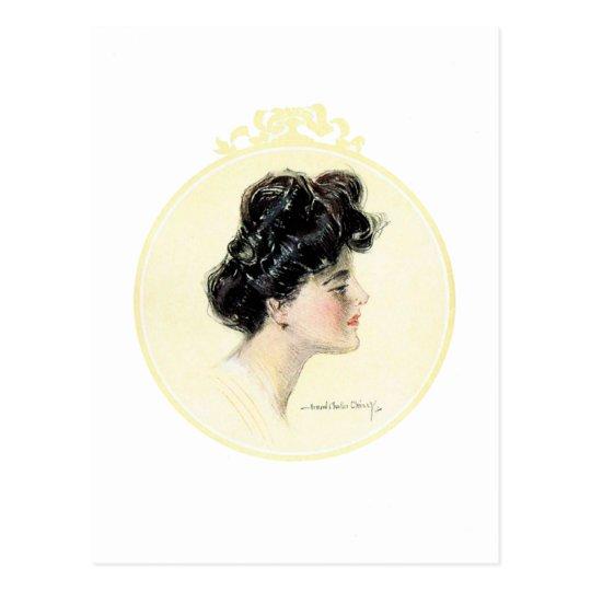 Christy Girl - Howard Chandler Christy Postcard