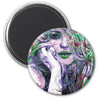 Christy 2 Inch Round Magnet