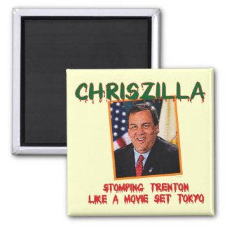 ChrisZilla - Chris Christie Refrigerator Magnet
