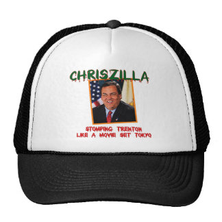 ChrisZilla - gorra del camionero de Gov. Chris Chr