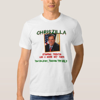 ChrisZILLA - Gov. Chris Christie Fitted Men's T T-Shirt