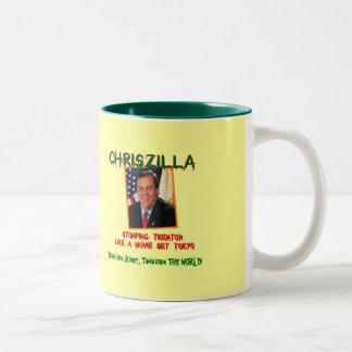 ChrisZILLA - Gov. Chris Christie Funny Mug