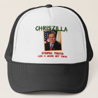 ChrisZilla - Gov. Chris Christie Trucker Hat