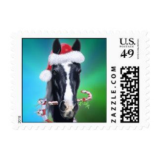 Chritmas fantasmagórico timbre postal