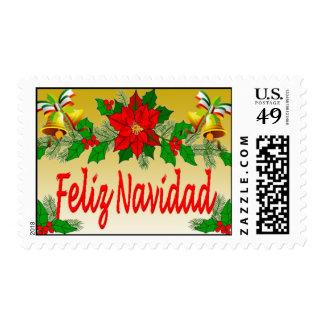 Chritmas Stamps Feliz Navidad