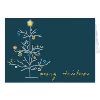 Chritsmas tree card