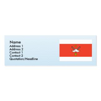 Chrlice, checo tarjetas de visita mini